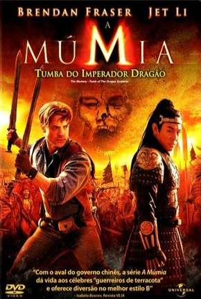 A Múmia - Tumba do Imperador Dragão BluRay