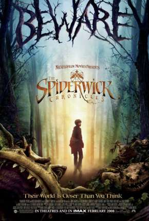As Crônicas de Spiderwick BluRay