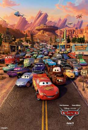 Carros BluRay