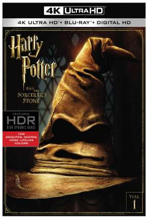 Harry Potter e a Pedra Filosofal - Versão de Cinema 4K
