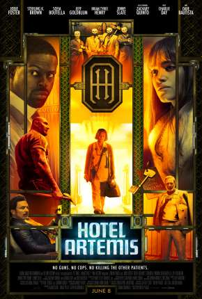 Hotel Artemis BluRay