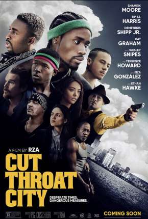 Cut Throat City - CAM - Legendado